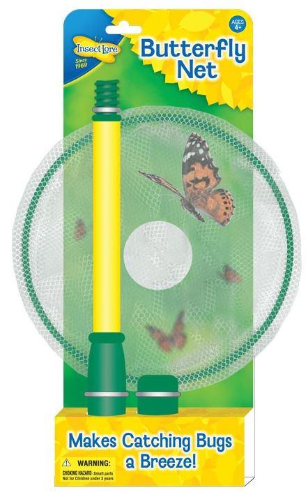 Kompaktní síťka na motýly