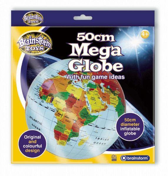 Nafukovací globus 50cm - Zeměkoule