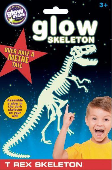 Glow Kostra T-rexe
