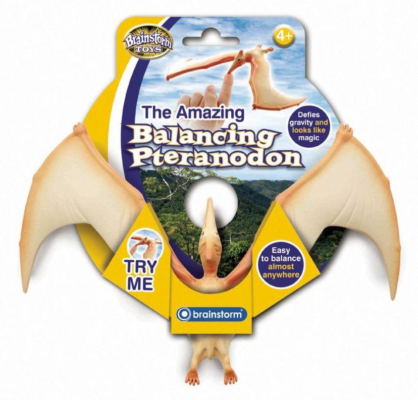 Úžasný balancující Pteranodon