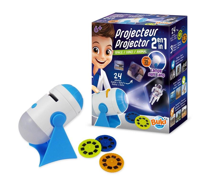 BUKI Projektor a noční světlo 2v1 mix motivů