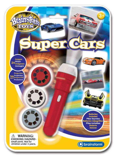 Ručné foto projektor - Super autá